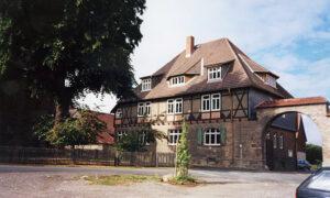 Sitz der Verwaltung in Veckenstedt